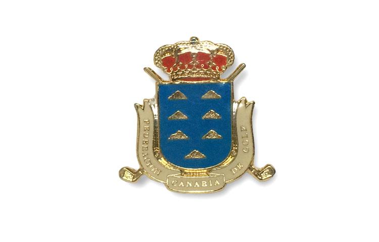 pin escudo esmaltado